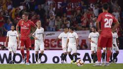 El Real Madrid no se reconocía en el Sánchez Pizjuán. (Foto: Getty)