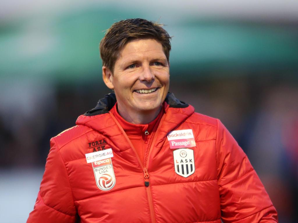 LASK-Trainer Oliver Glasner hat derzeit gut lachen