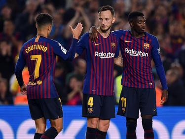 Lionel Messis Ersatzmann dürfte Ousmane Dembélé (r.) sein. © Getty Images/Alex Caparrón