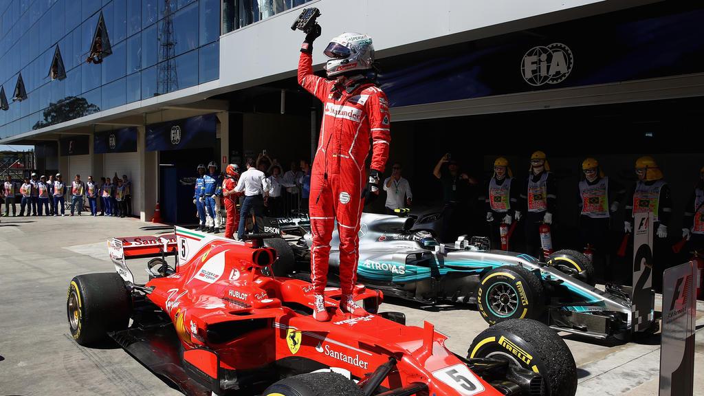 Sebastian Vettel freut sich auf das Rennen in Brasilien