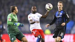Der HSV setzte sich knapp mit 1:0 gegen den SC Paderborn durch