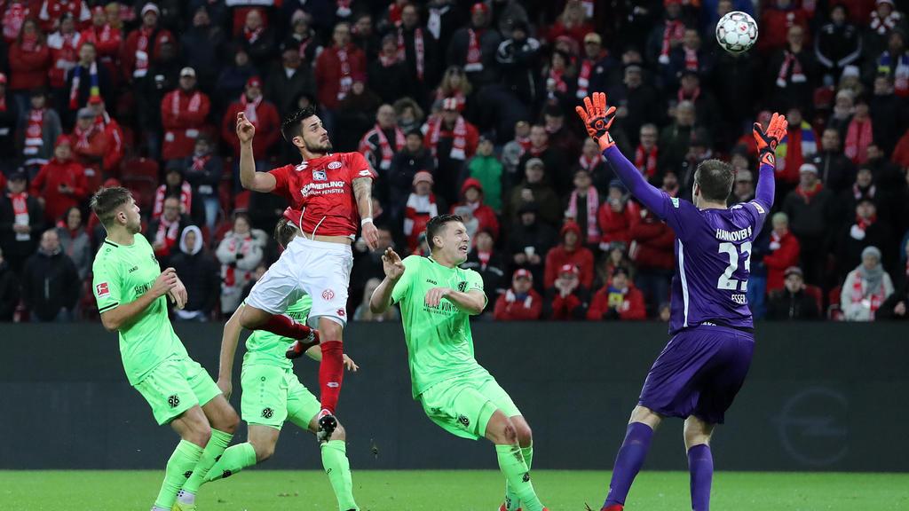 Mainz 05 und Hannover 96 trennen sich 1:1-Unentschieden