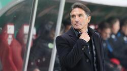 Bruno Labbadia hofft, dass sein Team die starke Auswärtsbilanz in Freiburg ausbauen kann