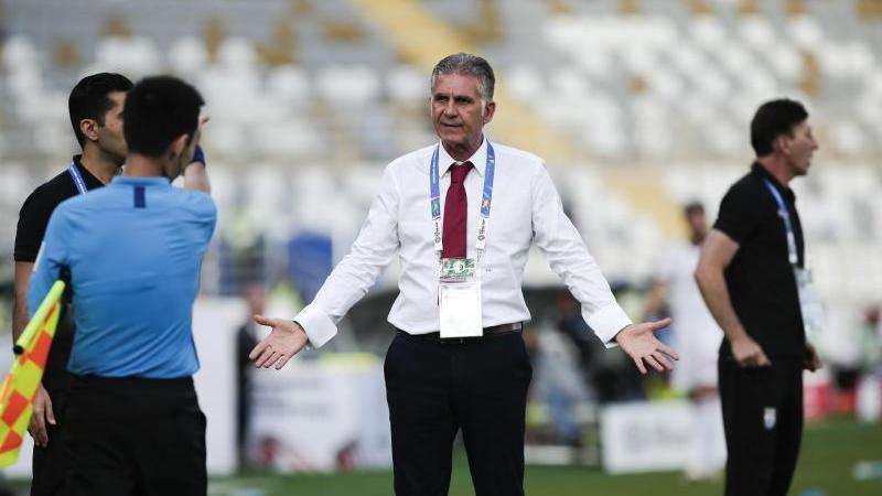 Irans Coach Carlos Queiroz wartet weiter auf sein Gehalt