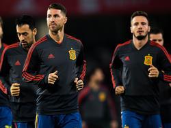 Busquets, Ramos y Saúl son parte de la convocatoria de Luis Enrique. (Foto: Getty)