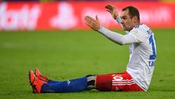 Pierre-Michel Lasogga wurde abermals von HSV-Investor Kühne kritisiert