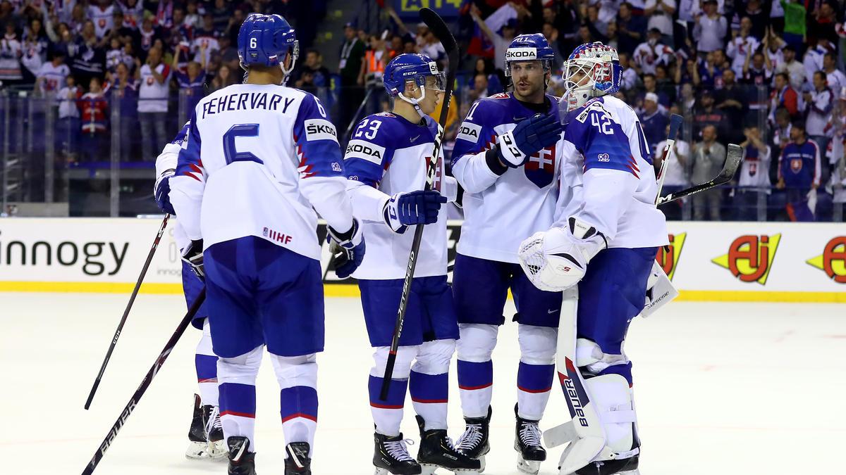 Die Slowakei besiegte Frankreich bei der Eishockey-WM