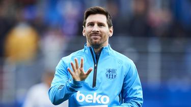 Lionel Messi gewinnt auch 2019 den Goldenen Schuh
