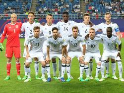 Das deutsche U20-WM-Team 2017