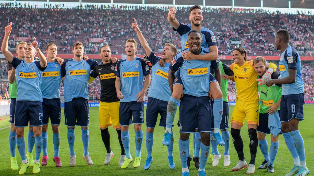 Die Gladbacher freuen sich auf die Europa League