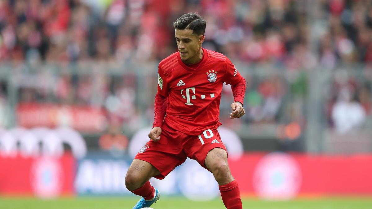 Coutinho ist bis zum Saisonende an den FC Bayern ausgeliehen
