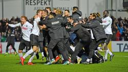 Nach Augsburg bezwang der SC Verl auch Holstein Kiel