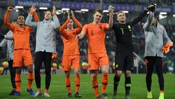 Die Niederlande qualifizierte sich erfolgreich für die EM