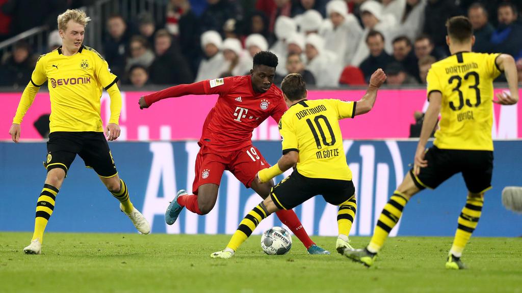 Beim Liga-Knaller FC Bayern vs. BVB kam es bei Sky zu Sendeproblemen