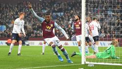 Aston Villa besiegte den FC Liverpool