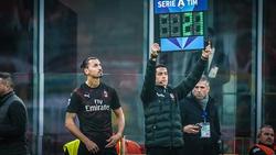 Zlatan Ibrahimovic feierte sein Comeback beim AC Milan