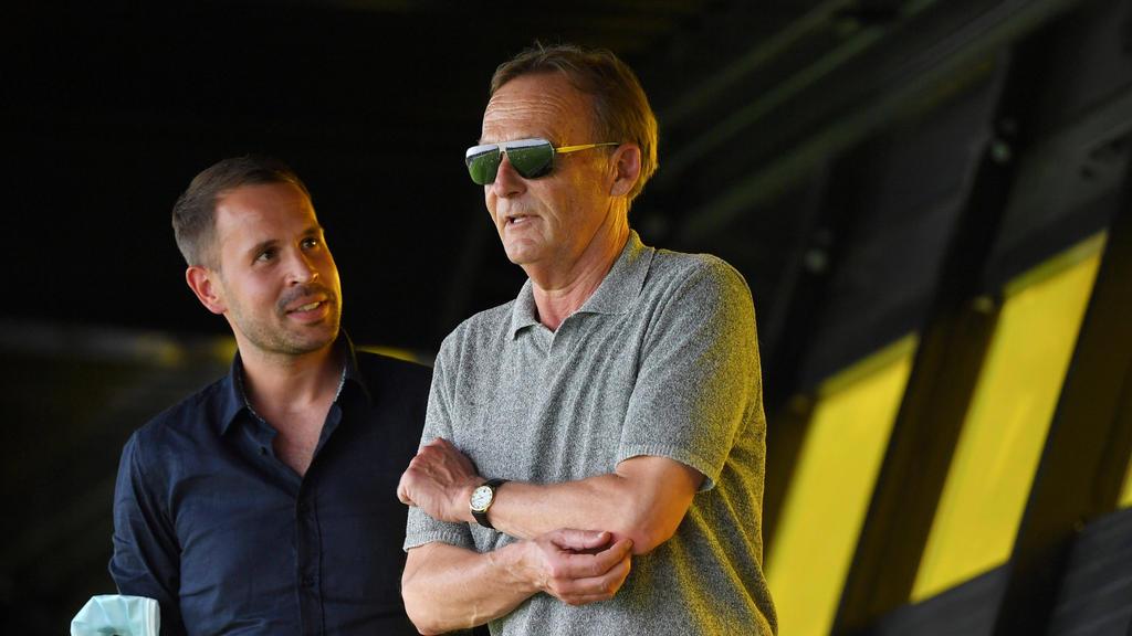 Hans-Joachim Watzke vom BVB denkt derzeit nicht über einen Wechsel zur DFL nach