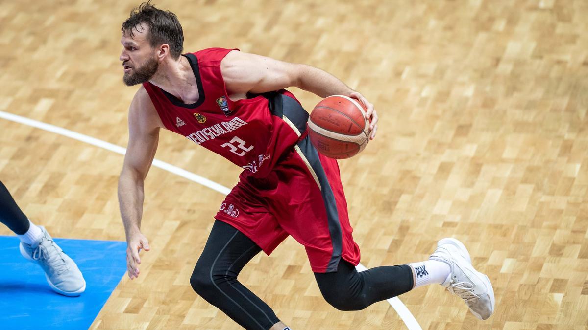 Deutschlands Basketballer um Danilo Barthel stehen im Viertelfinale