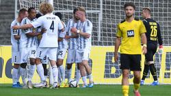 Das Nachwuchsteam des BVB musste sich gegen Waldhof Mannheim mit einem Remis zufriedengeben