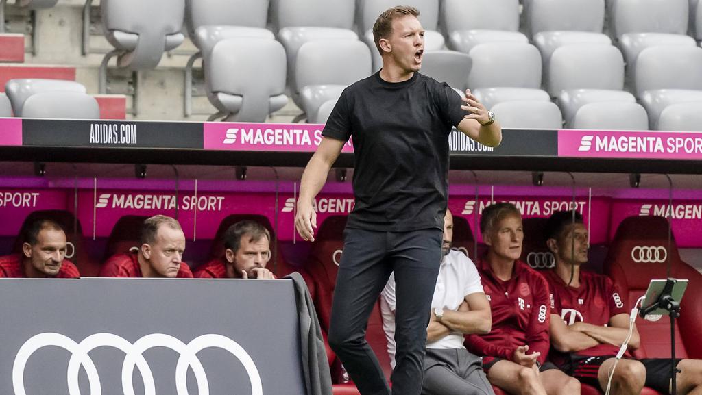 Julian Nagelsmann trifft mit dem FC Bayern auf den Bremer SV