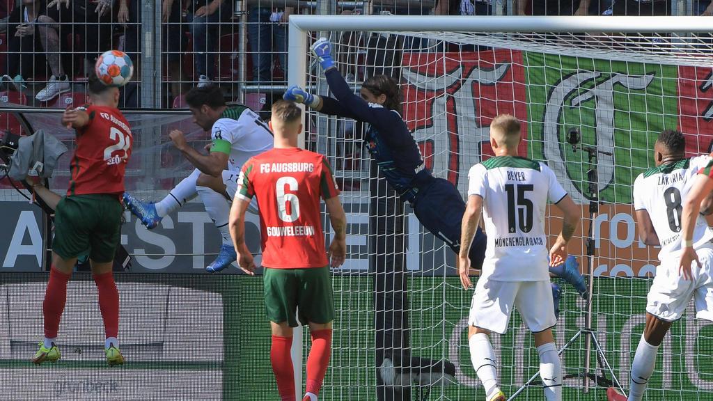 Der FC Augsburg setzte sich gegen Gladbach durch