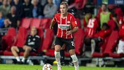 Mario Götze ist mit Eindhoven auf Kurs