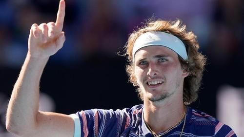 Trifft im Halbfinale auf Dominic Thiem: Alexander Zverev