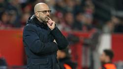 Peter Bosz hofft auf ein gutes Ergebnis gegen den BVB