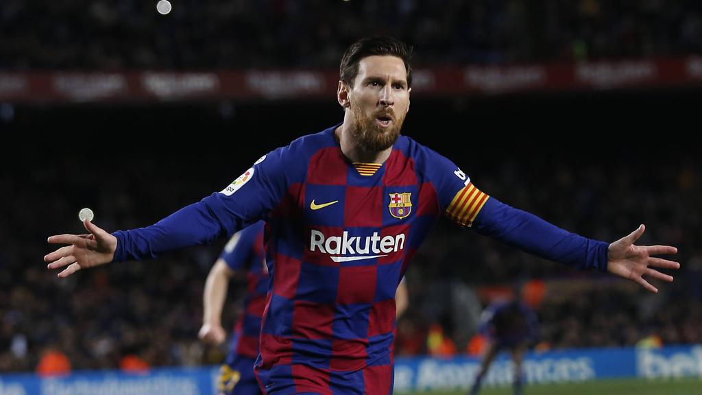 Lionel Messi nähert sich der Spitze an
