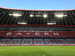 Blick in die Allianz-Arena