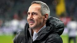 Trifft mit Eintracht Frankfurt auf den FC Bayern:_Adi Hütter
