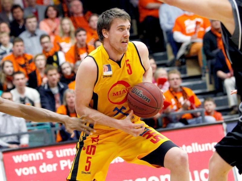 Rasta Vechta um Power-Forward Jacob Doerksen konnte zu wenige Spiele in der BBL gewinnen. Foto: Elke Schikora