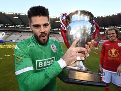 Víctor Valdés, campeón de la Beler van België. (Foto:Imago)