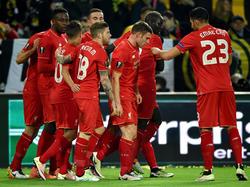 Liverpool jubelt in Dortmund