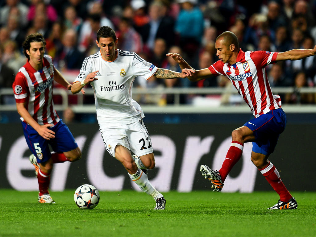 Angel di Maria (M.) im Trikot von Real Madrid