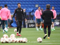 Nicht zufrieden mit dem Spiel seines Heimatlandes: Diego Simeone