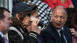 Stones-Sänger Mick Jagger brachte den Engländern kein Glück