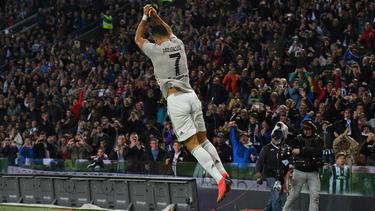 Cristiano Ronaldo traf bei Juves Sieg gegen Udinese