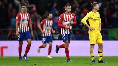 Der BVB verliert mit 0:2 bei Atlético Madrid