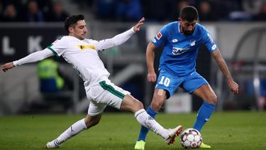 Lars Stindl hat sich im Spiel gegen Hoffenheim verletzt