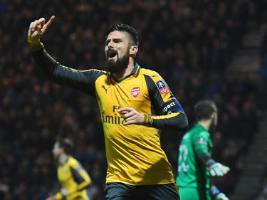 Olivier Giroud war Arsenals Retter