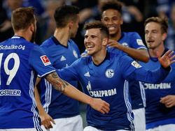 El Schalke 04 sumó una gran victoria ante su público. (Foto: Getty)