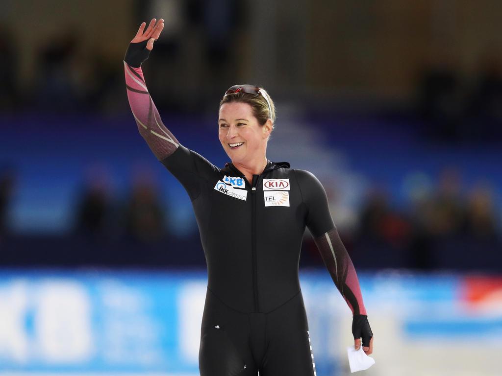 Claudia Pechstein bestreitet ihre siebten Olympischen Spiele