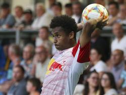 Karim Adeyemi soll bei Barcelona weit oben am Wunschzettel stehen