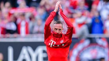 Zieht es FC-Bayern-Legende Franck Ribéry in die Golfregion?