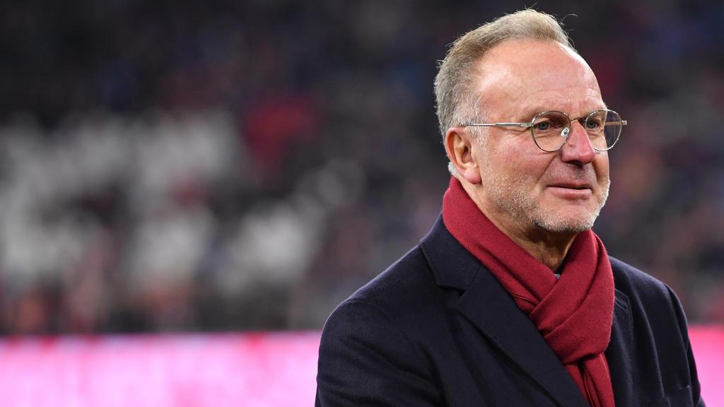Karl-Heinz Rummenigge vom FC Bayern hat sich zur Causa Leroy Sané geäußert