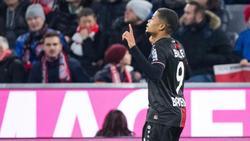Neben Keeper Hrádecky der herausragende Leverkusener: Leon Bailey