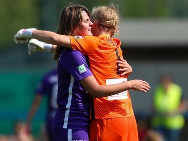 Jubel beim Frauenteam von Austria Wien