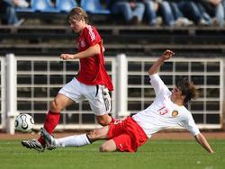 U17: Deutschland und Belgien trennen sich 1:1