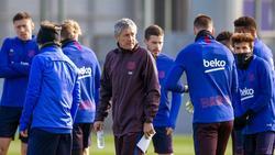 Quique Setién äußerte sich zu möglichen Verstärkungen beim FC Barcelona